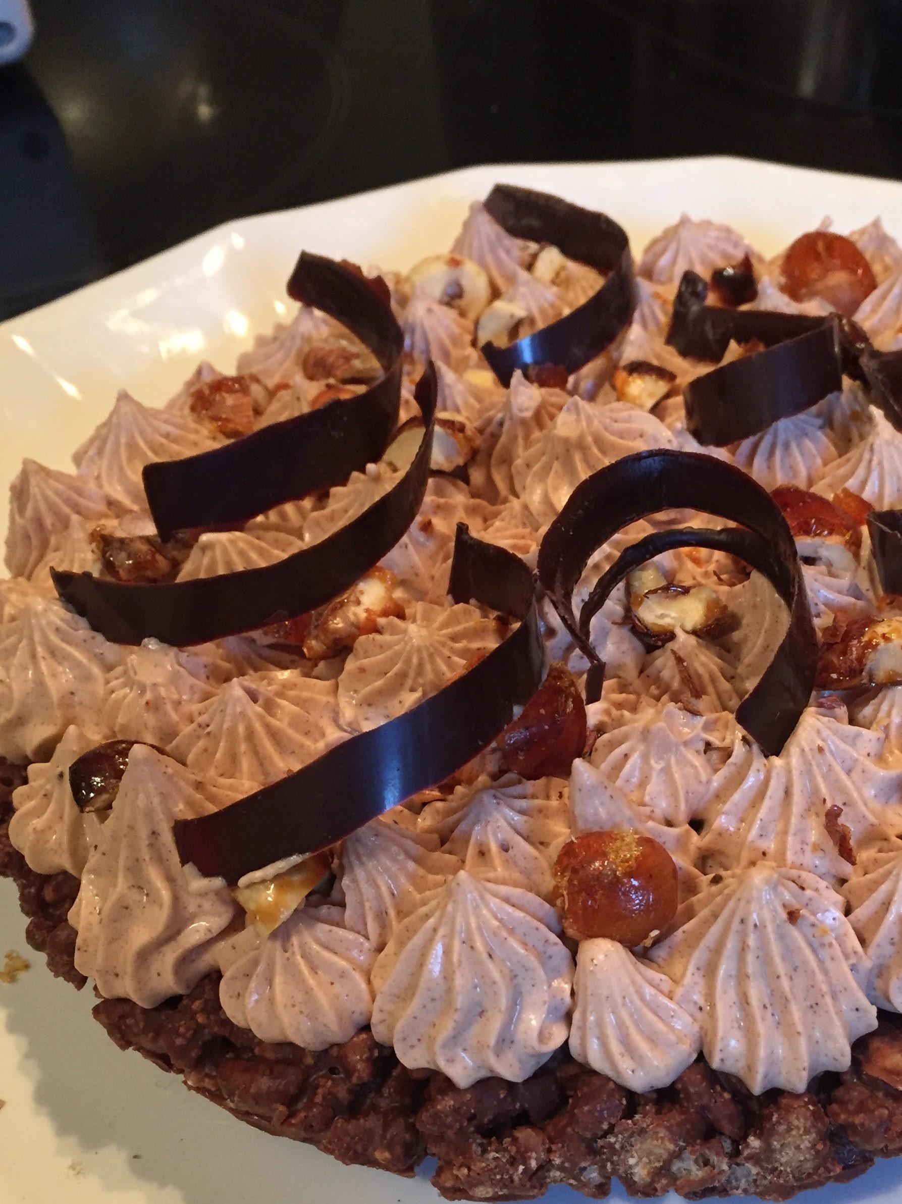 Fantastik sans gluten au gianduja & noisette par Christophe Michalak