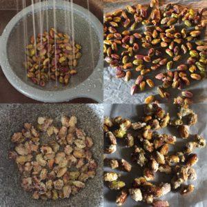 desaler des pistaches