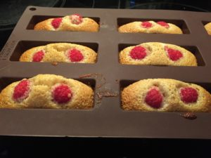 cuisson financiers