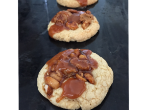 cookies caramel cacahuetes