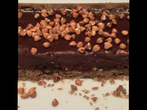 Tarte chocolat et graines de sarrasin