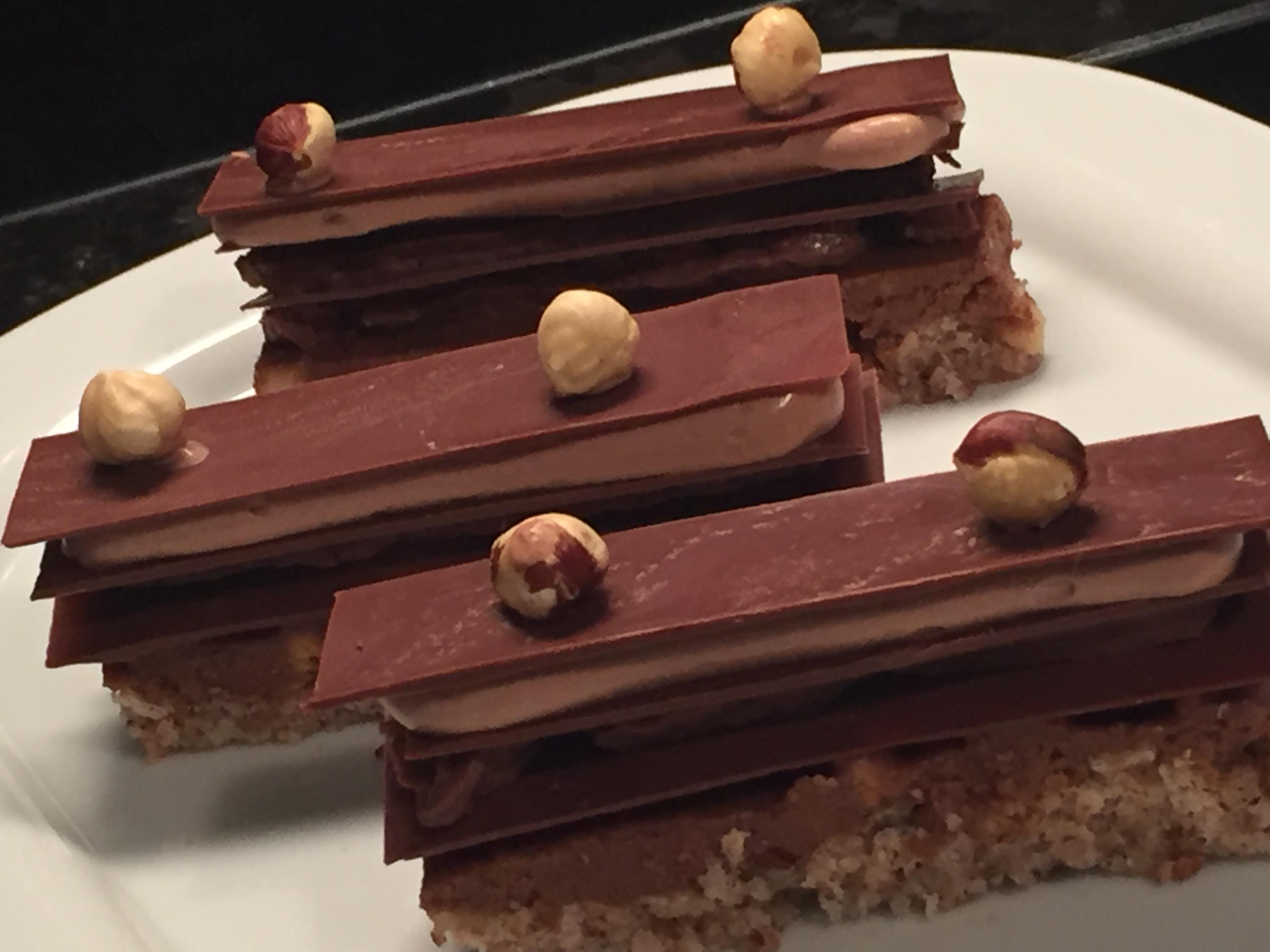 Plaisir Sucré selon une recette de Pierre Hermé adaptée sans gluten
