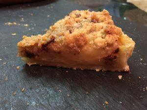tarte crumble sans gluten