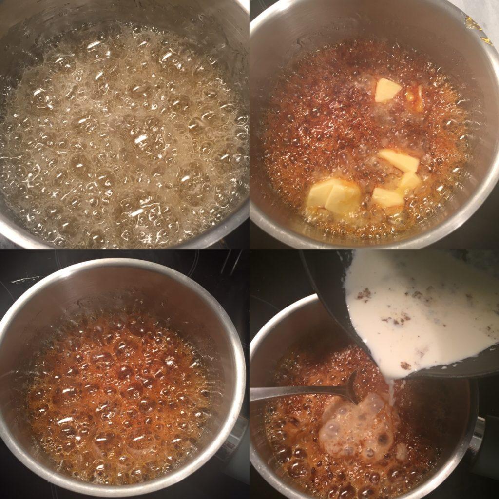 faire une caramel au beurre sale