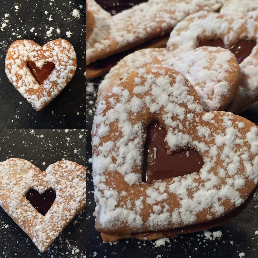 biscuits à la farine de pois chiche