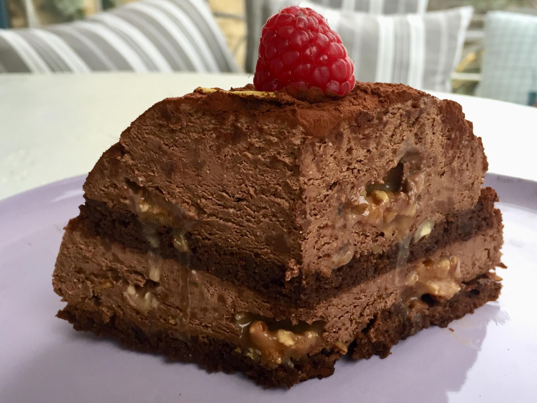 Grué au chocolat de Philippe Conticini adapté sans gluten