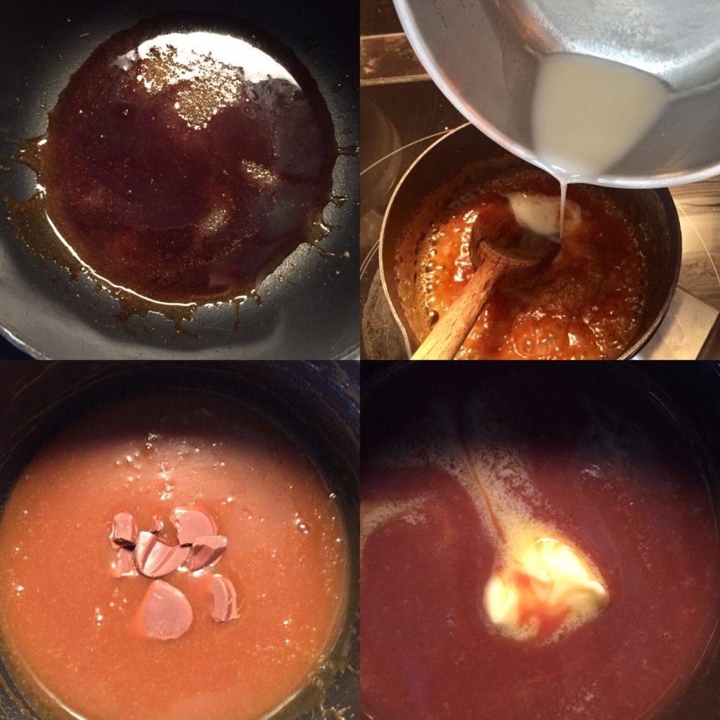 recette caramel cremeux