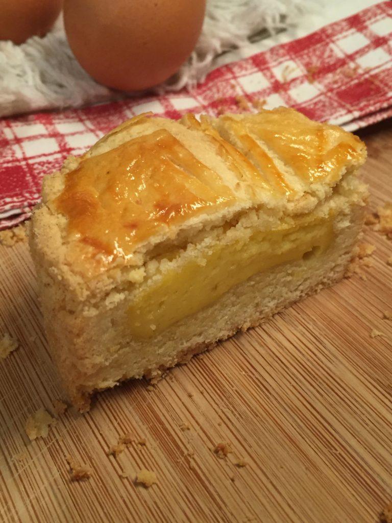 part de gateau basque sans gluten
