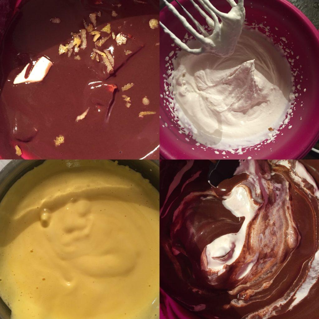 mousse chocolat citron