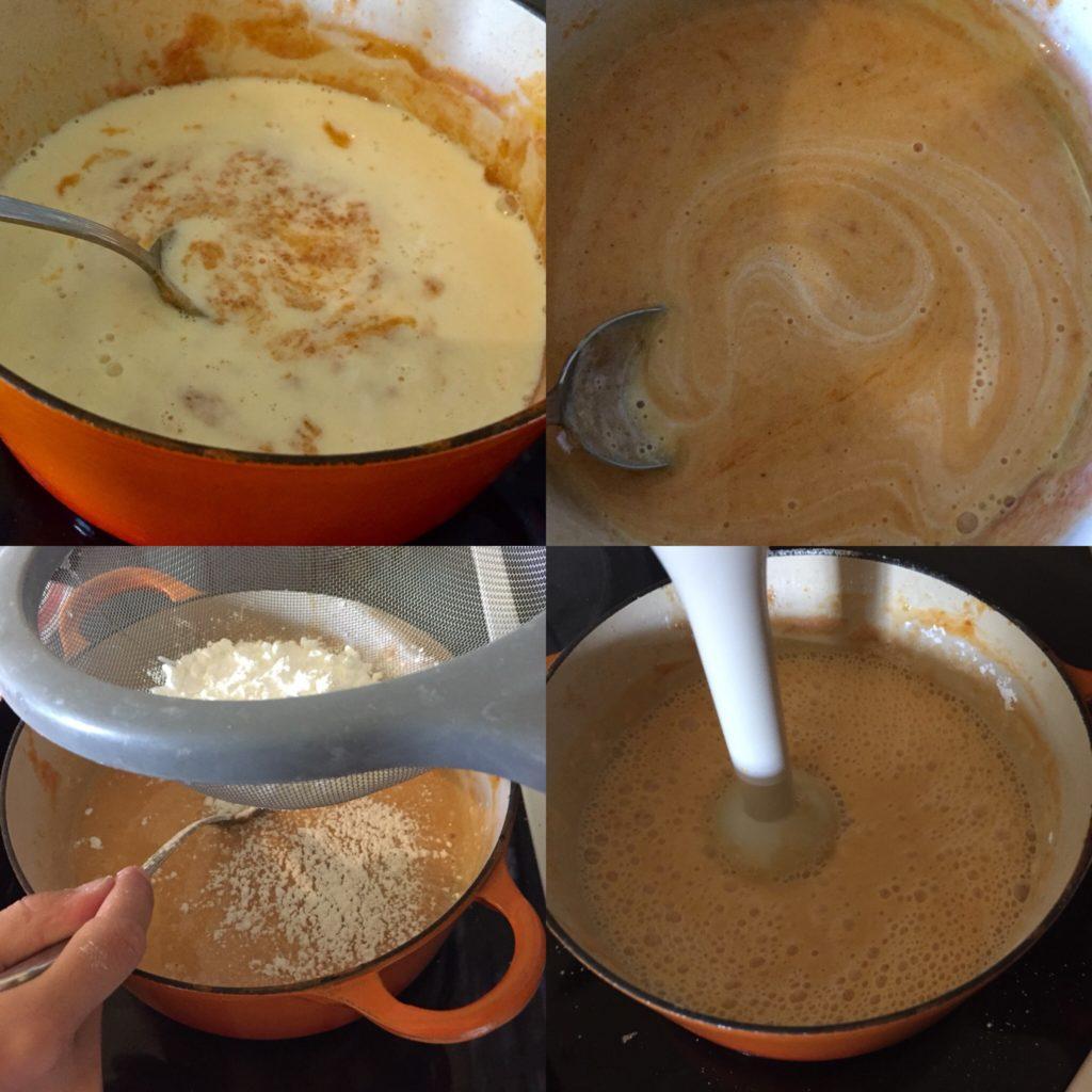recette crme à l'abricots