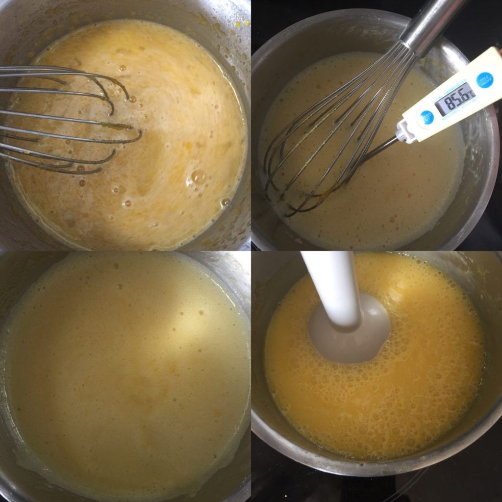 creme orange pour tarte