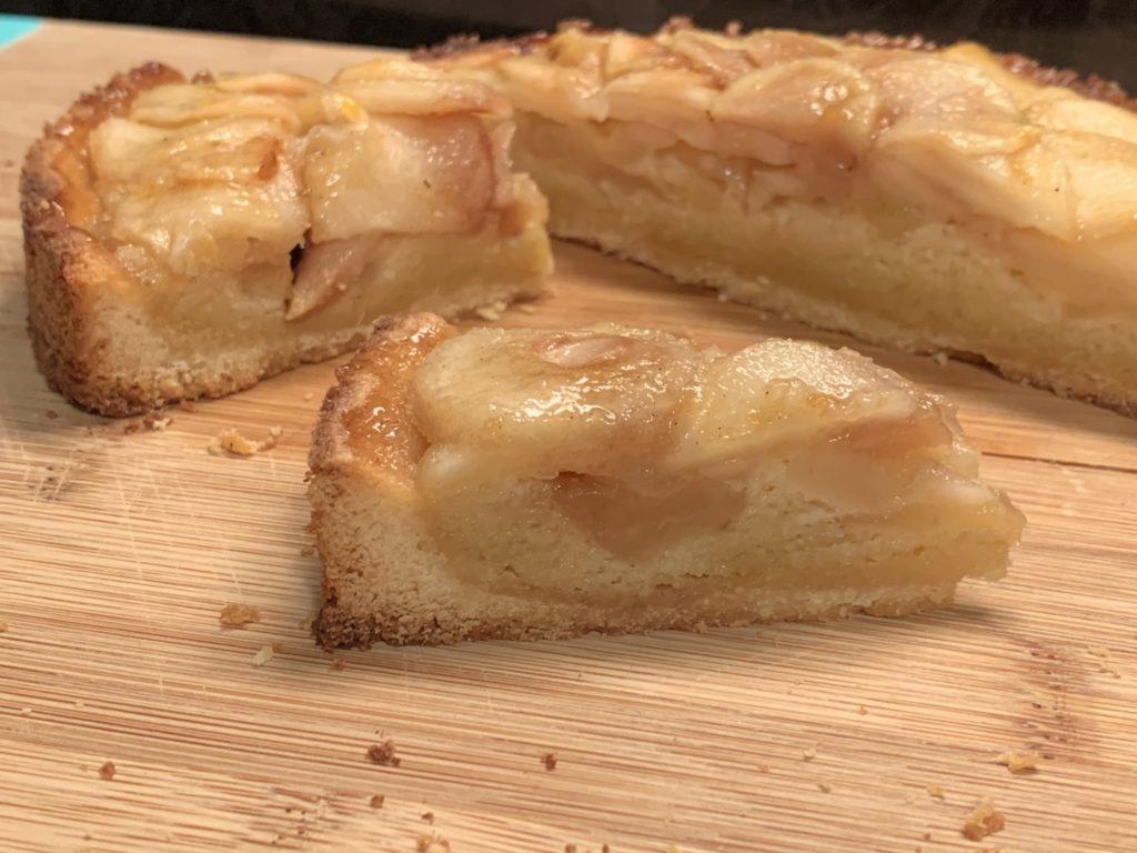 recette tarte aux poires de Cedric Grolet
