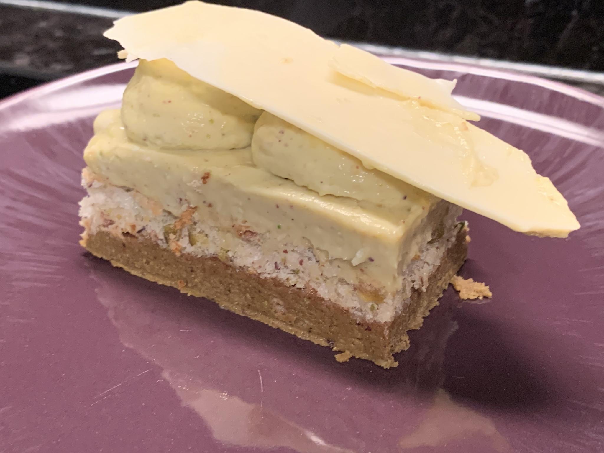 Oro verde à la pistache de Nicolas Haewyn adapté sans gluten