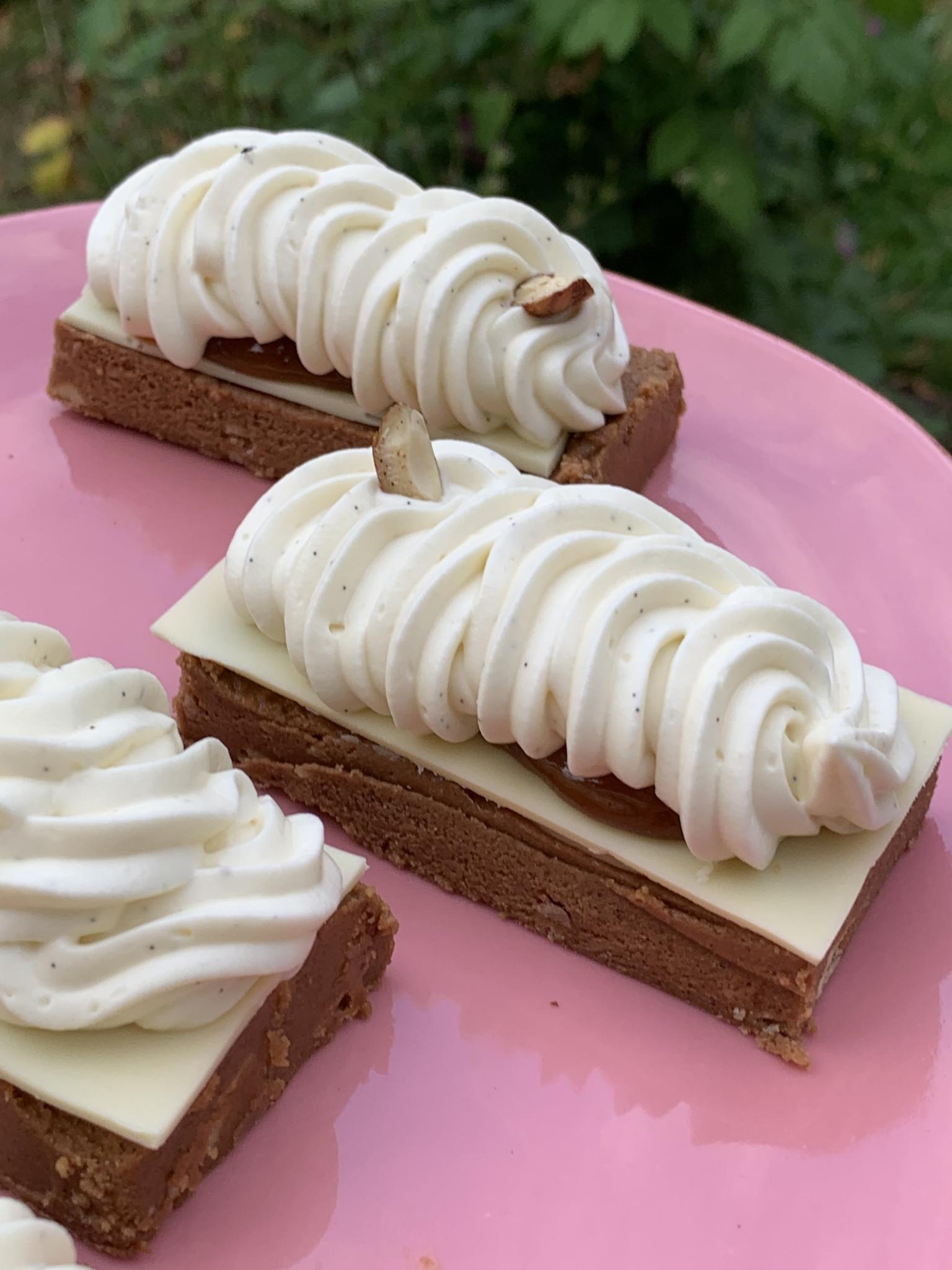 Entremet Vanilla adapté sans gluten