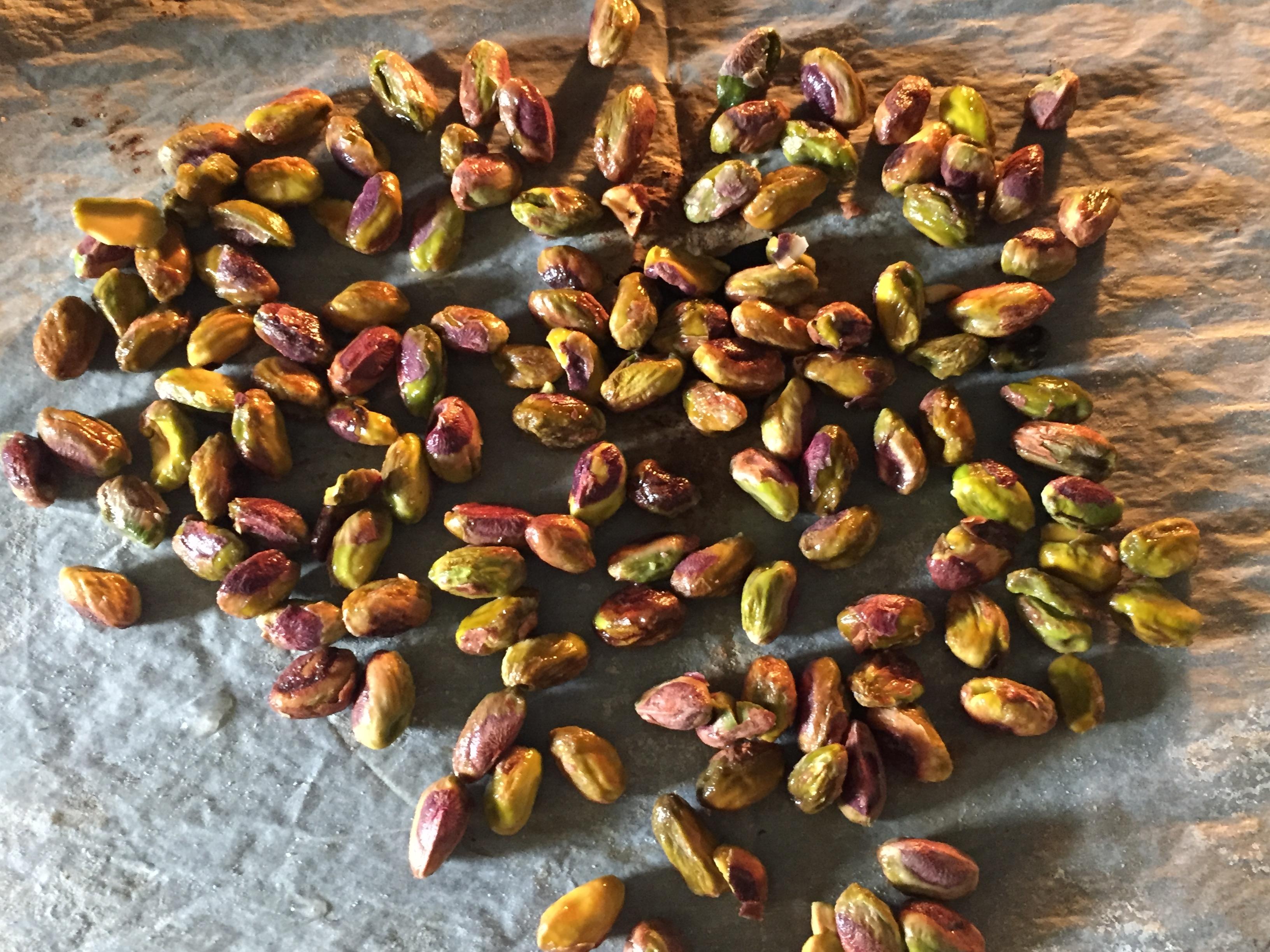 Pâte de pistaches maison selon une recette Philippe Conticini