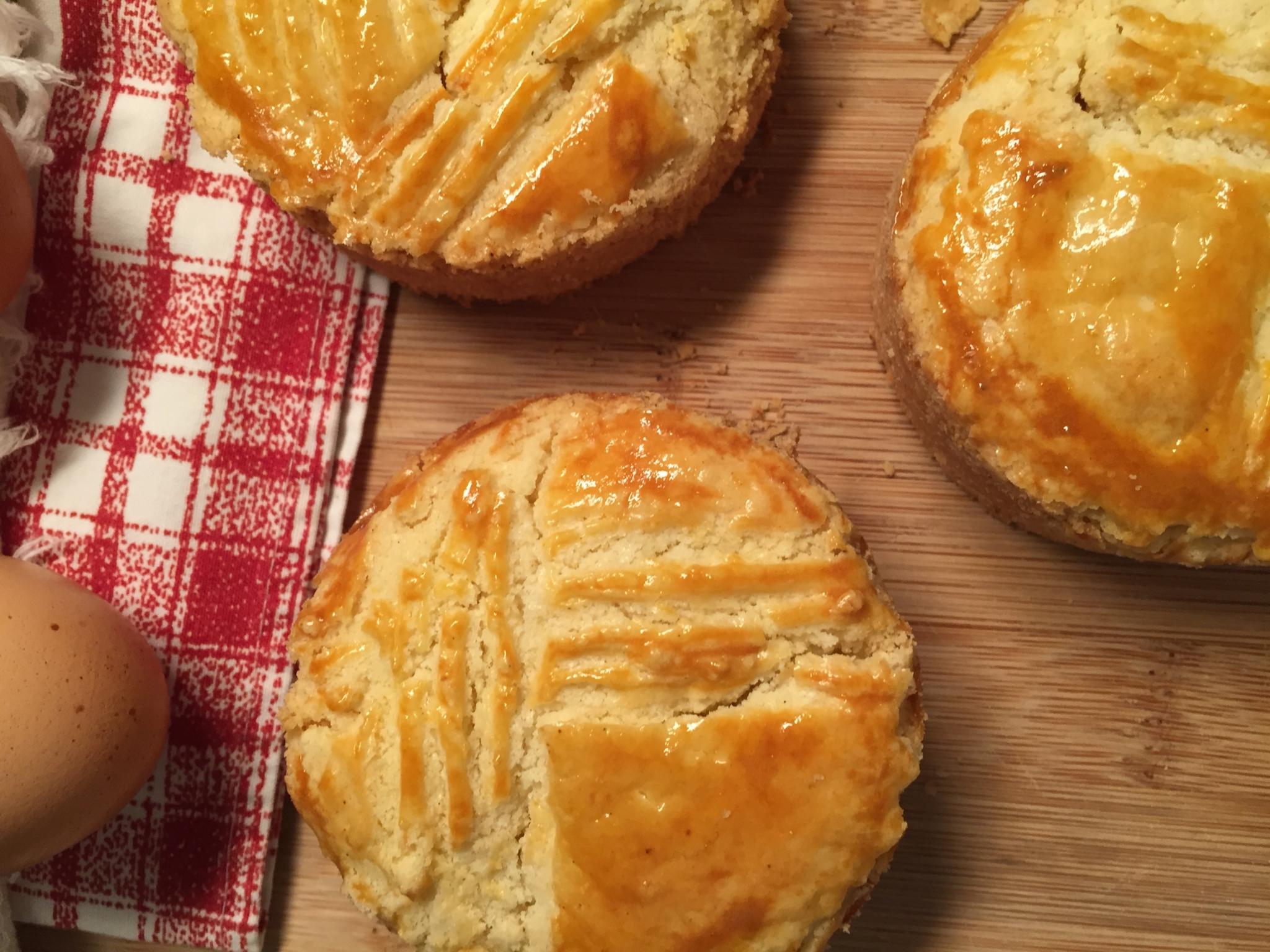 Gâteau Basque adapté sans gluten d'une recette de Christophe Felder