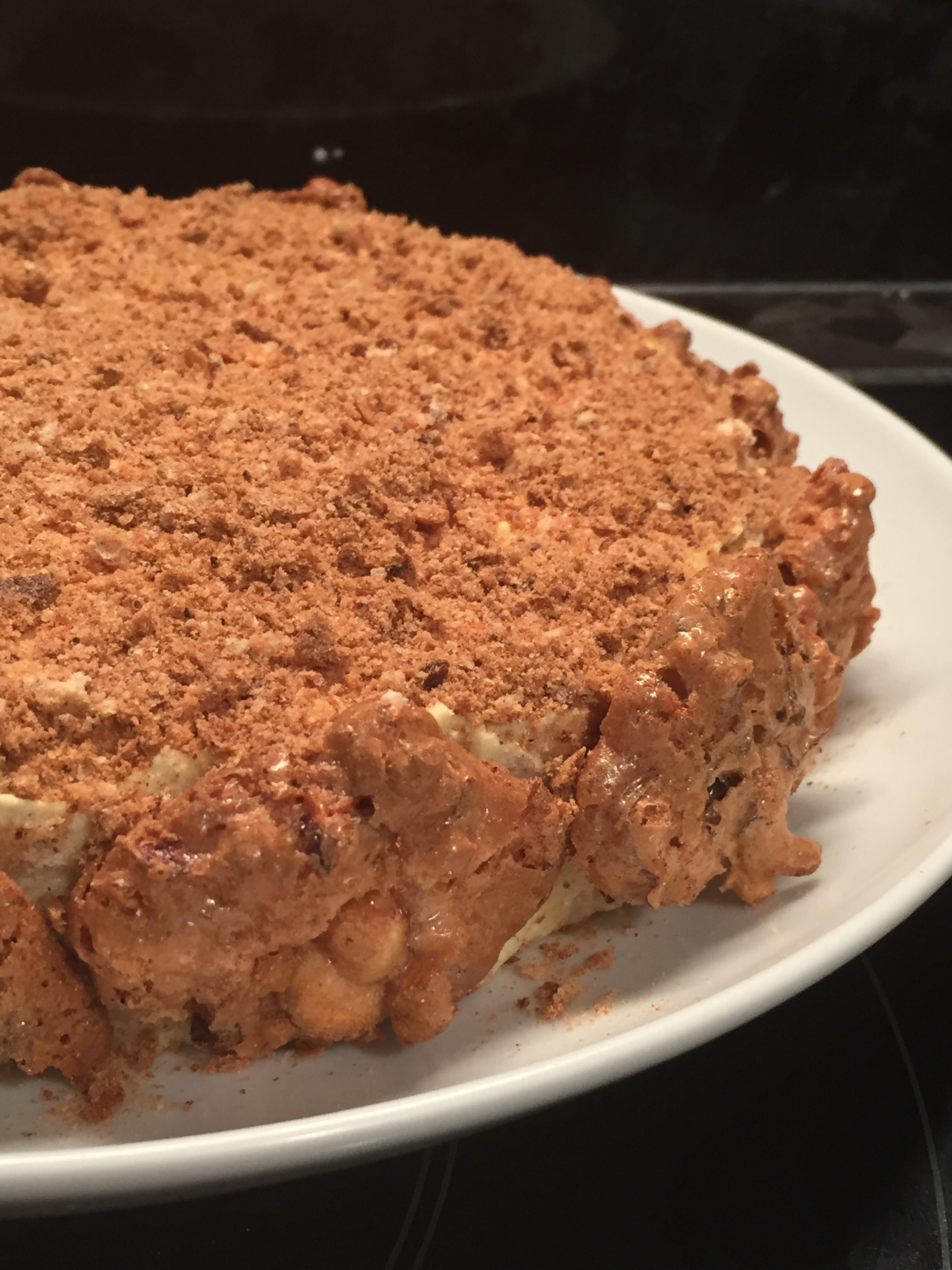 Succès Vanille, une recette sans gluten de Christophe Felder